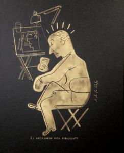 El-descanso-del-dibujante(21x25)