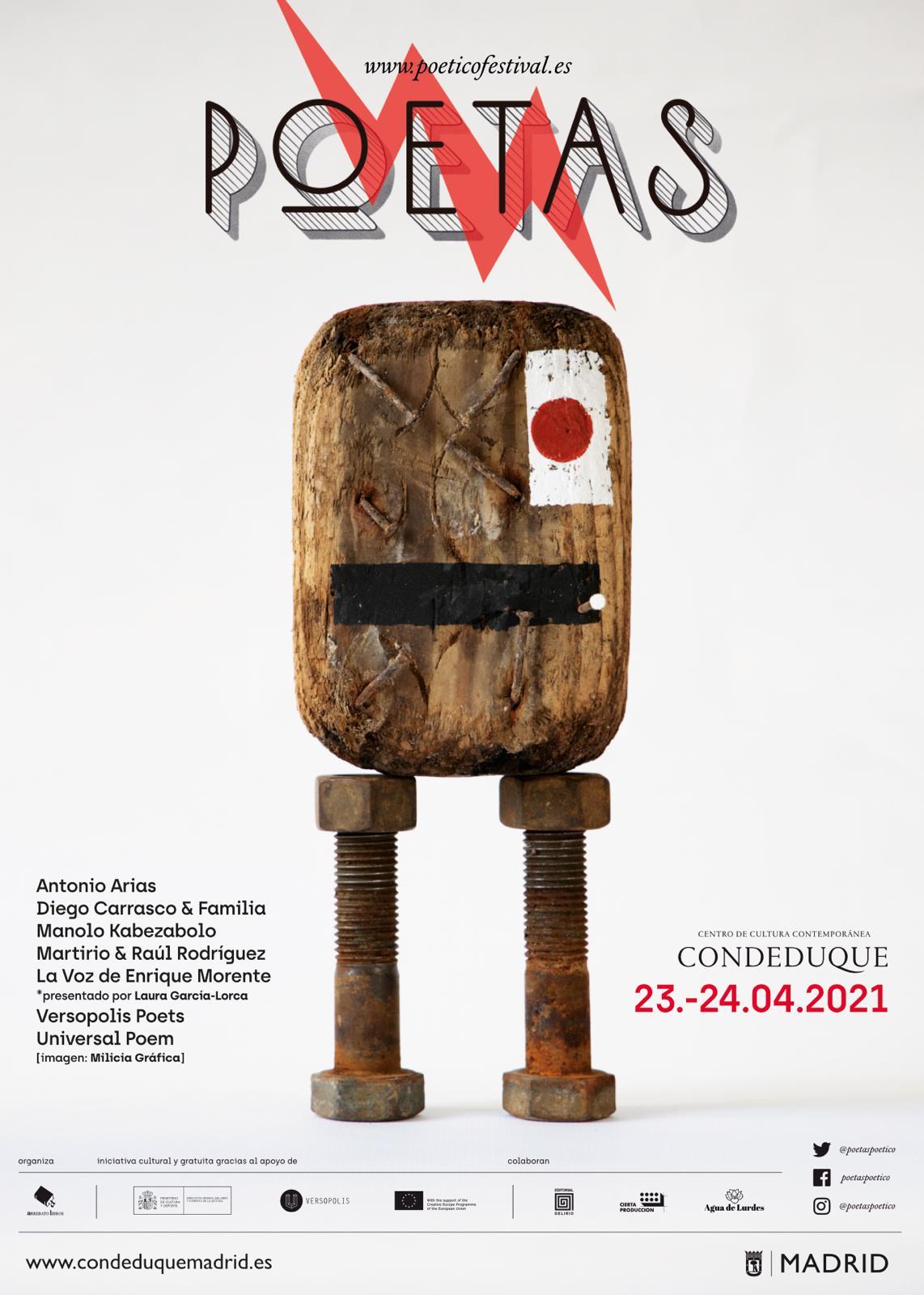 Cartel Poetas2021 miliciagrafica